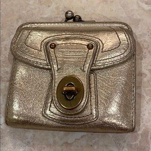 Coach Legacy Metallic Leather Wallet